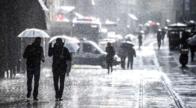 Konya için kuvvetli yağış ve dolu uyarısı
