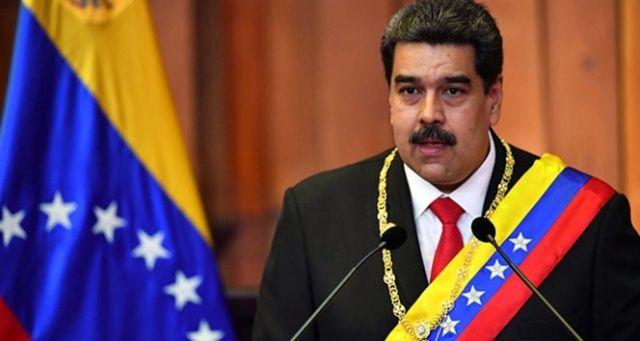 Maduro: 'Darbe yapmaya kalkışan terörist grubu yakaladık ve hapse attık'