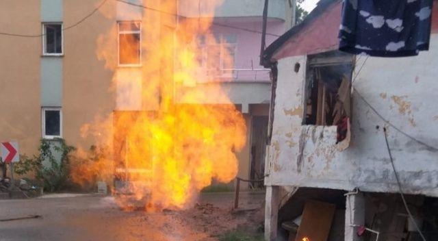Ordu'da doğalgaz borusu patladı: 2 yaralı