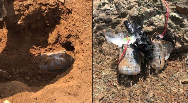 Pençe Harekatı kapsamında teröristlere ait amonyum nitrat ana imha hattı imha edildi