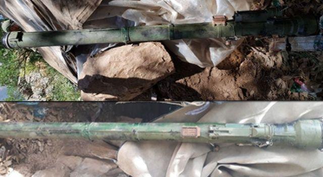 PKK'ya ait sığınakta SA-14 portatif füze bulundu