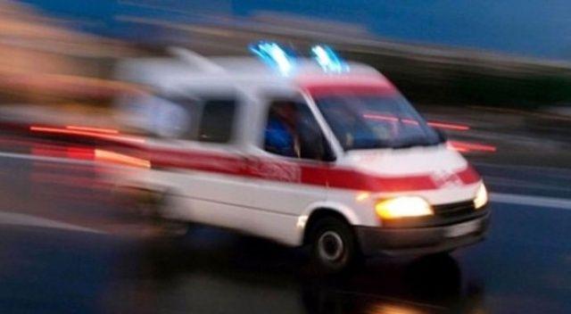 Polis aracı ile otomobil çarpıştı: 2 yaralı