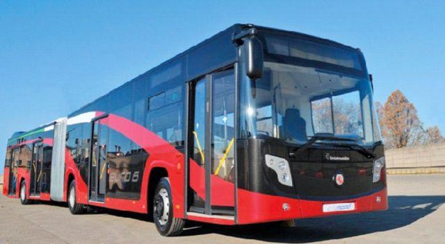 Roma Belediyesine 227 adet otobüs