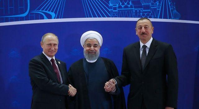 Rusya, İran ve Azerbaycan devlet başkanları Soçi'de bir araya gelecek