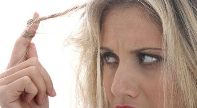 Saç kuruluğuna dikkat!