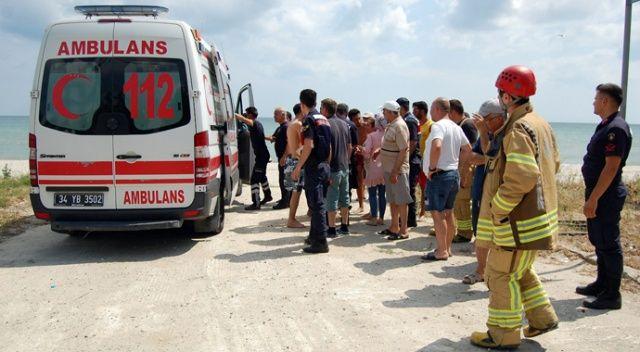Silivri sahilinde boğulma tehlikesi geçiren çocuk hastanede hayatını kaybetti