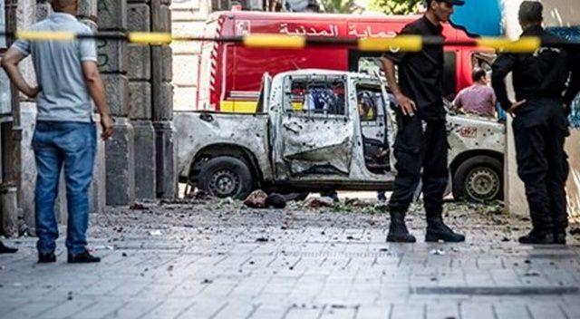 Tunus'un başkentinde intihar saldırısı