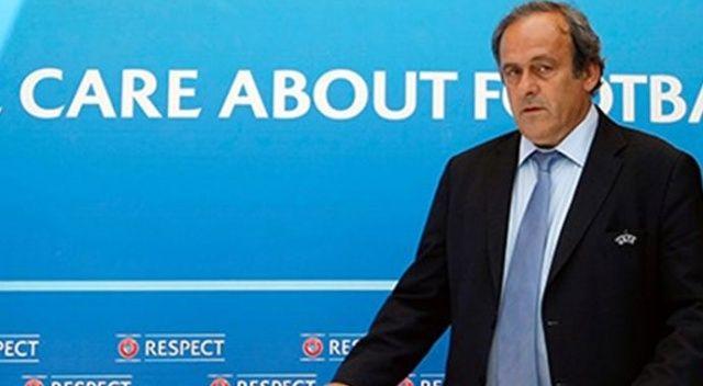 UEFA eski Başkanı Platini'ye usulsüzlük iddiasıyla gözaltı!