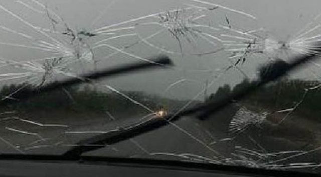 Yer: Ordu! Araç camlarını kırdı