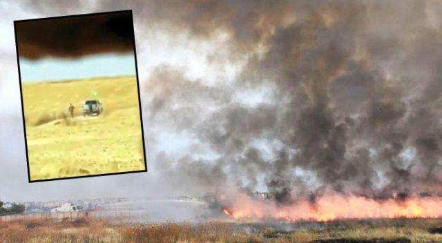 YPG, köylünün elli bin dönüm arazisini yaktı