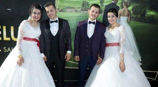 İkiz kardeşler, ikizlerle evlendi