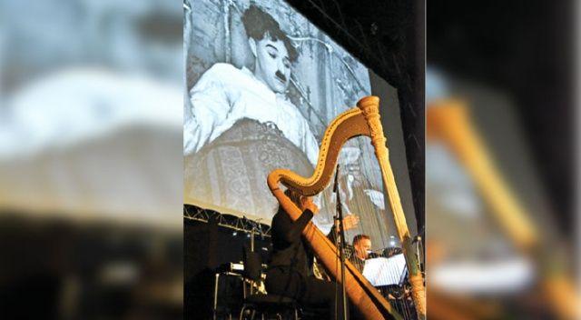 'Şarlo' filmi orkestrayla şenlendi