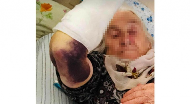 92 yaşındaki kayınvalidesini sopayla döven gelin serbest