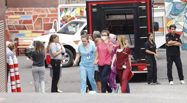 Ankara'da hastanede kimyasal madde alarmı