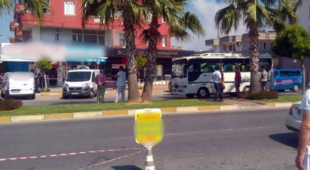 Antalya'da korkunç cinayet! Kırgız genç sokak ortasında öldürüldü