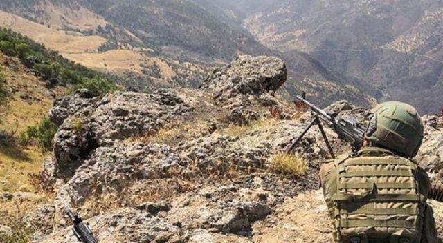 Bingöl'de hava destekli operasyonda 4 terörist etkisiz hale getirildi