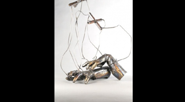 Çelik, sanata  ilham verirse...