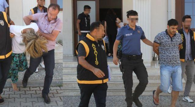Cezaevinden firar edip sahte kimlikle hırsızlık yaparken yakalandılar