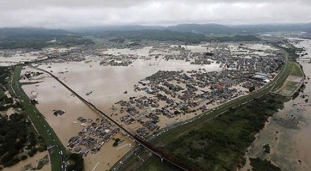 Çin'de selden etkilenenlerin sayısı 20 milyona dayandı