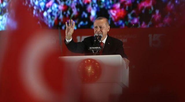 Cumhurbaşkanı Erdoğan: Bu milleti asla yıkamayacaklar