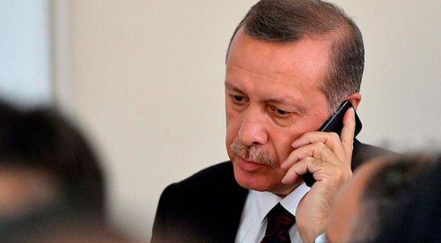 Cumhurbaşkanı Erdoğan'dan Süleyman Arif Emre'nin oğluna taziye telefonu