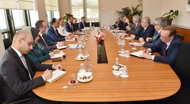 Cumhurbaşkanlığı Sözcüsü Kalın, Rusya Federasyonu Suriye Özel Temsilcisini kabul etti