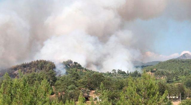 Dalaman'da korkutan orman yangını