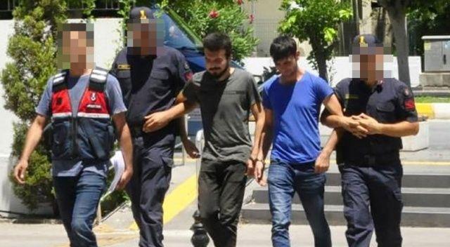 Dedesinin parasını çalan genç ve arkadaşı tutuklandı