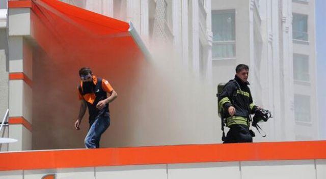 Diyarbakır'da panik: 50 kişi tahliye edildi