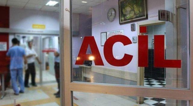 Erzincan'da gıda zehirlenmesi şüphesiyle 45 kişi hastaneye kaldırıldı