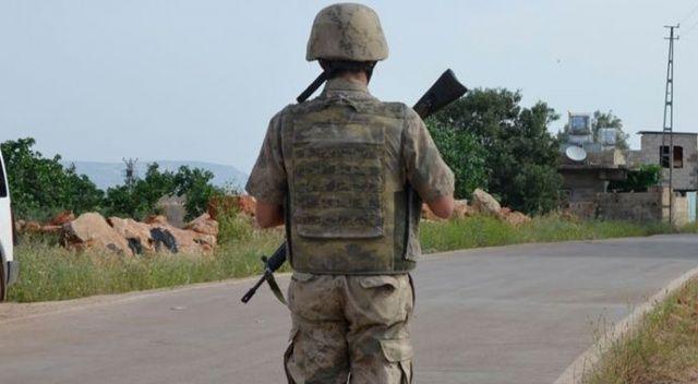 Hakkari'de bir PKK'lı terörist yaralandı
