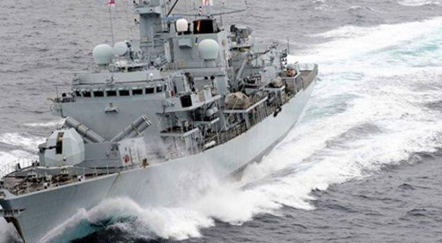 İngiliz donanması, İran teknelerini durdurdu
