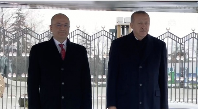 Irak Cumhurbaşkanı Salih'ten Cumhurbaşkanı Erdoğan'a taziye telefonu