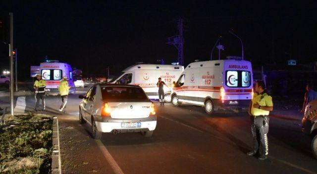 Kars'ta feci kaza: 1 ölü, 4 yaralı