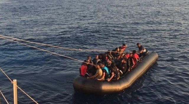 Kuşadası'nda 14'ü çocuk 48 kaçak göçmen yakalandı