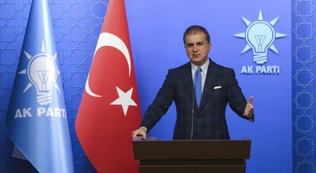 Ömer Çelik: Türkiye'nin millî muhalefet konusunda cari açığı var