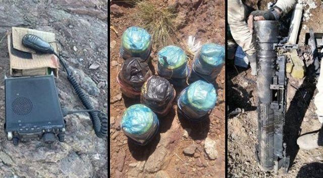 Pençe Harekâtı ile PKK'nın 177 mağara ve sığınağı imha edildi