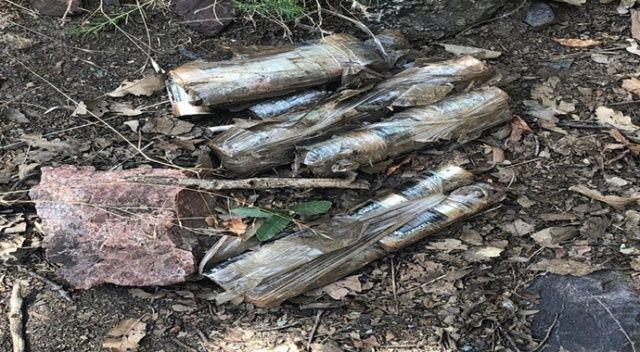 PKK'ya ait silah ve mühimmatlar imha edildi