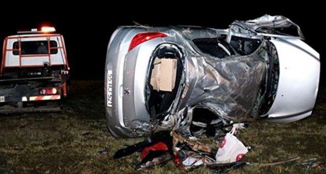 Samsun'da çocuğun kullandığı otomobil devrildi: 6 çocuk yaralı
