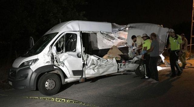Şile yolunda feci kaza: 2 ölü, 5 yaralı