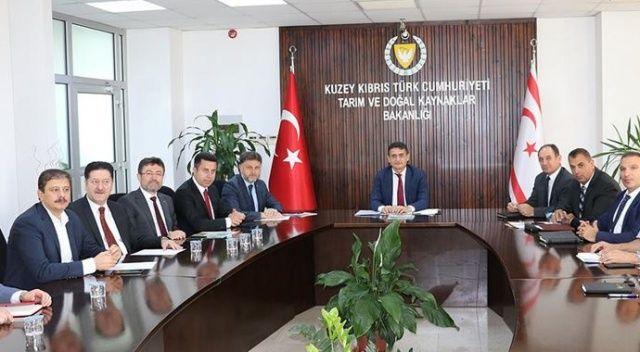 Tarım Kredi Genel Müdürü Poyraz KKTC'de temaslarda bulundu