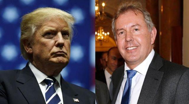Trump, İngiltere'nin ABD Büyükelçisine 'aptal' dedi
