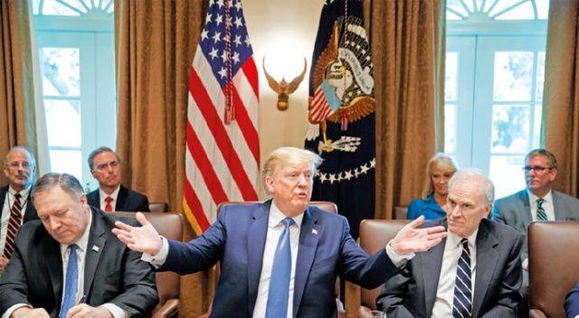 Trump'tan senatörlerle Türkiye toplantısı