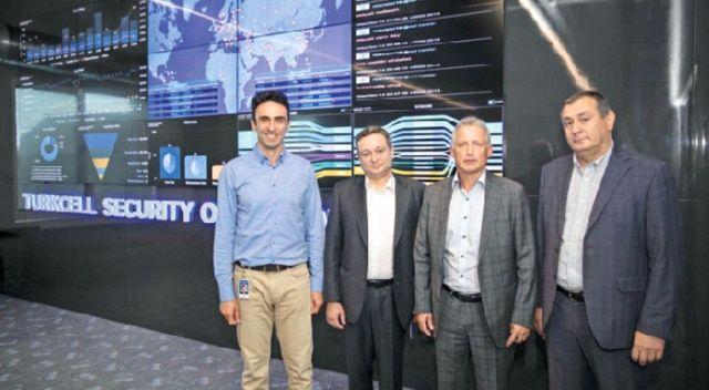 Turkcell'in siber güvenlik merkezi dünyaya örnek oldu