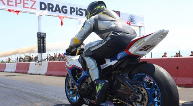 Türkiye Motodrag Şampiyonası Kepez'de başladı