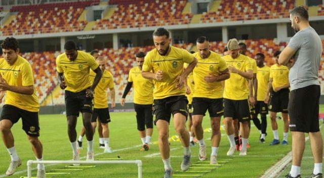 Yeni Malatyaspor, Olimpija Ljubljana maçının taktiğini çalıştı