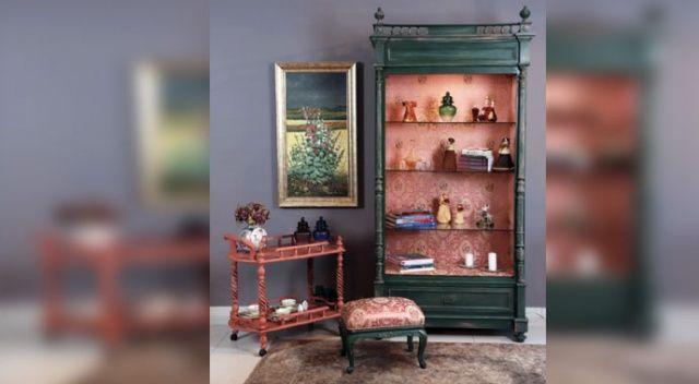 Yıllanmış mobilya yeni bir nefesle hayata dönüyor