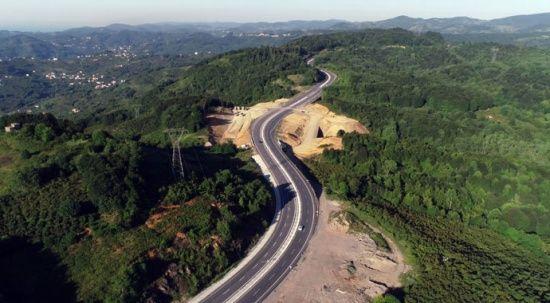 45 yıllık rüya sona erdi! 36 km'lik duble yol hizmete açıldı