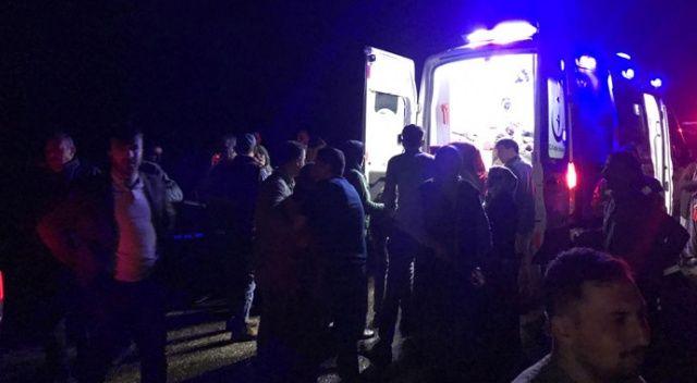 Düğüne giden araç baraja uçmuştu, kayıp 4 kişinin cesedi bulundu
