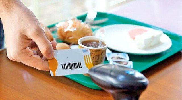 4 milyon kişi yemek kartı kullanıyor